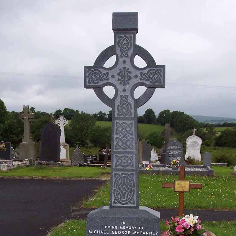 McGovern Memorial Celtic Cross Gravestone