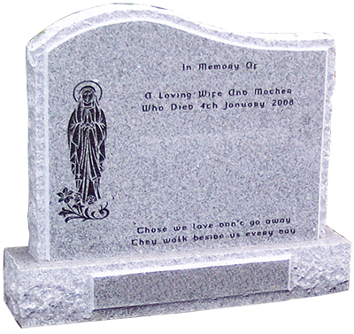 Letter Engraving Headstone